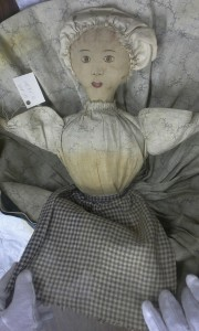 Reverse side of Mammy Topsy-Turvy Doll