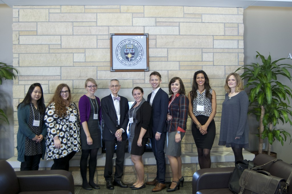 2015 Symposium Presenters with Dr. Walter Melion