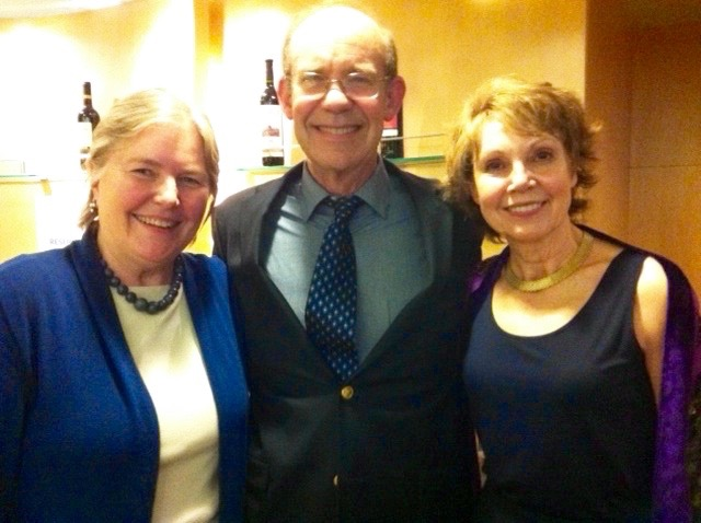 "Barb with David Eisenhower and Julie Nixon Eisenhower in China in 2013 during the National Trust's program ""Ancient Kingdoms of China."""