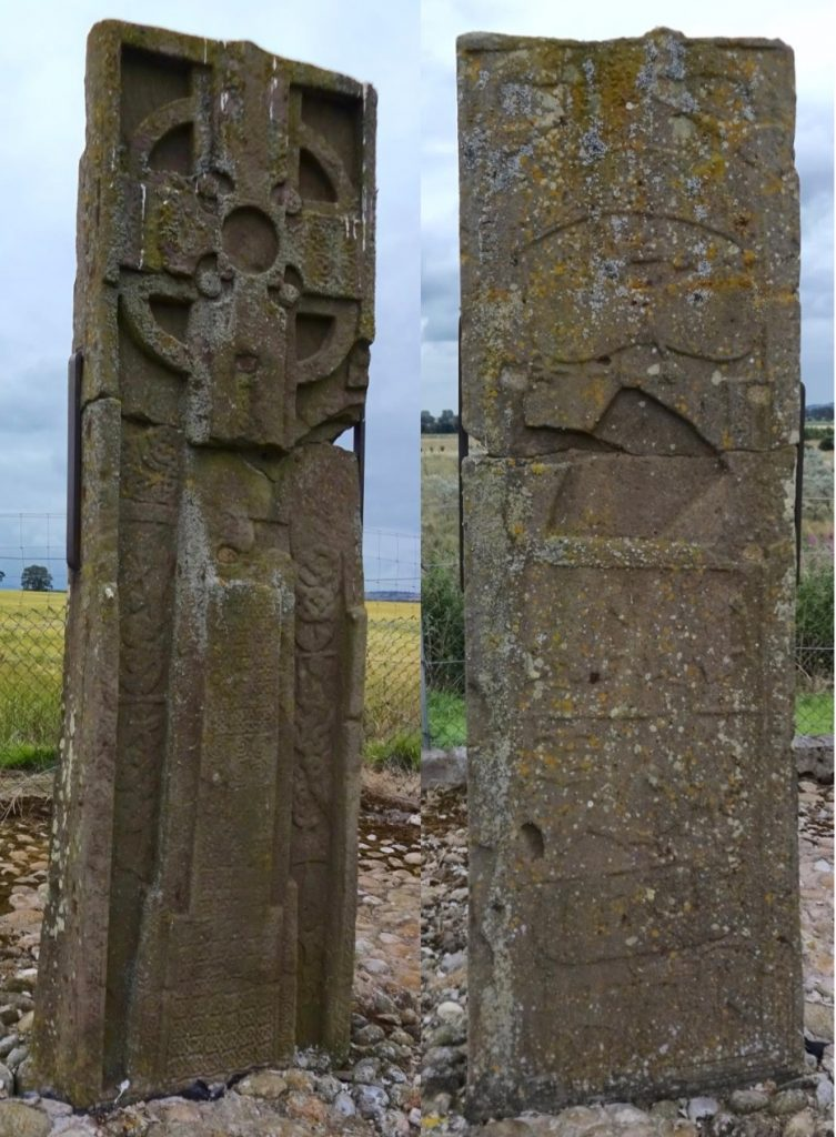 St Orland's Stone is an example of an early historic Pictish monument. (photos by author, 2016)