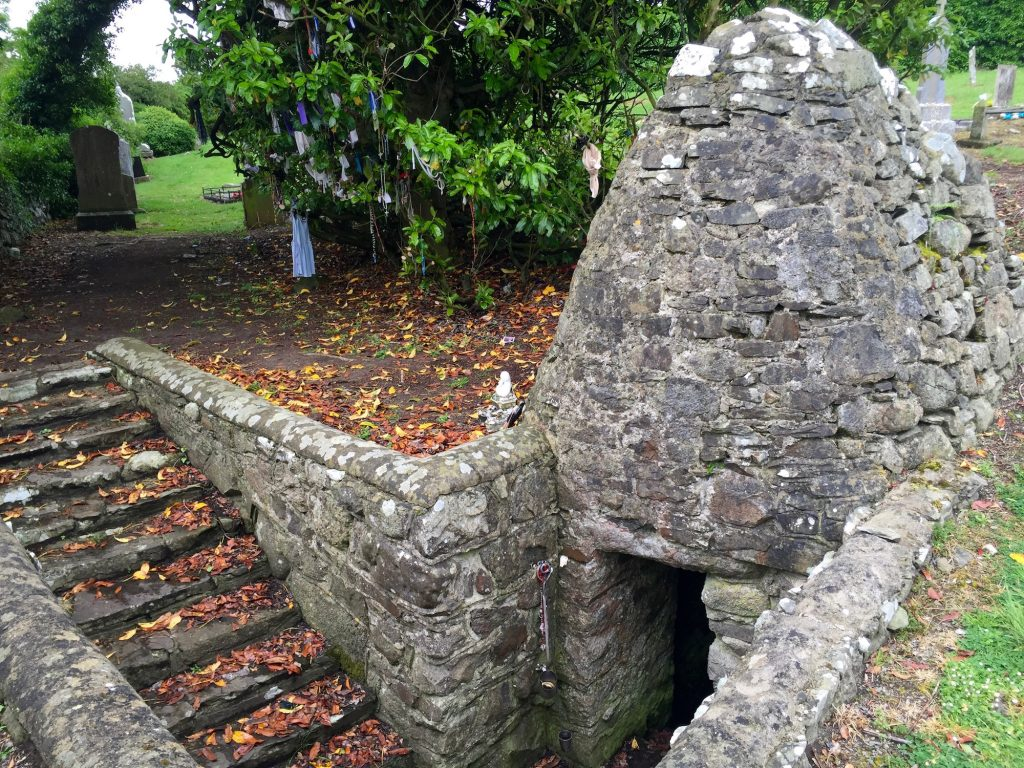 St. Brigid's Well, Faughart, County Louth.