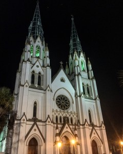 St. John the Baptist Cathedral, the oldest church in Georgia.