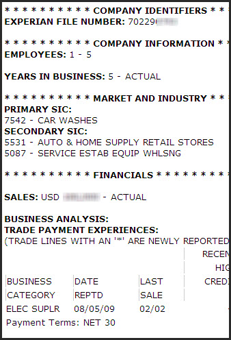 Hoover'S Company Records And Experian Business Reports – Ust