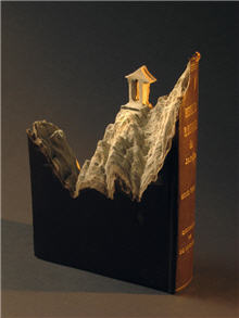 Guy Laramee Book Carving