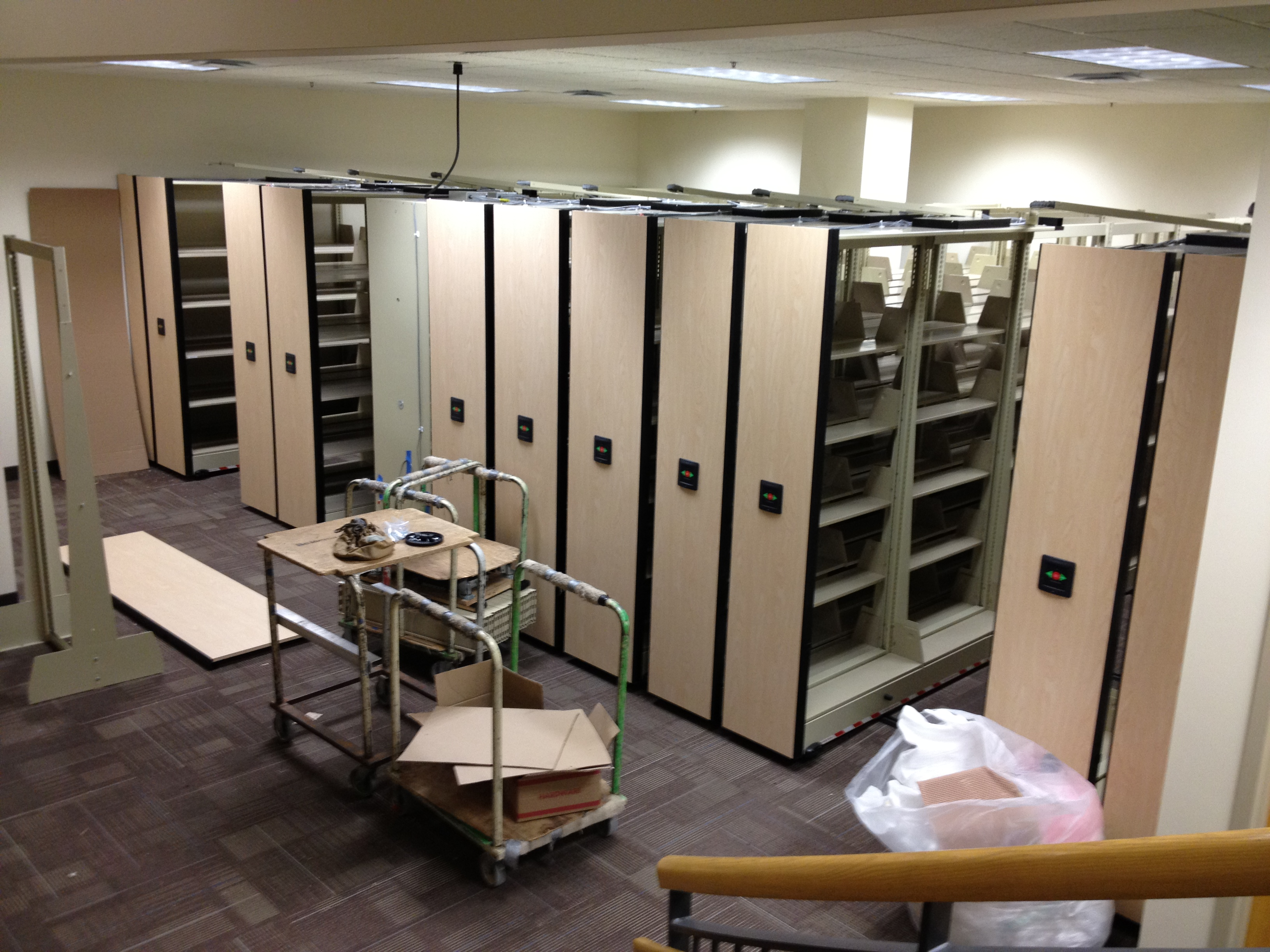 Compact Shelving – UST Libraries Blog
