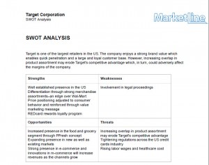 Target Corporation SWOT Analysis