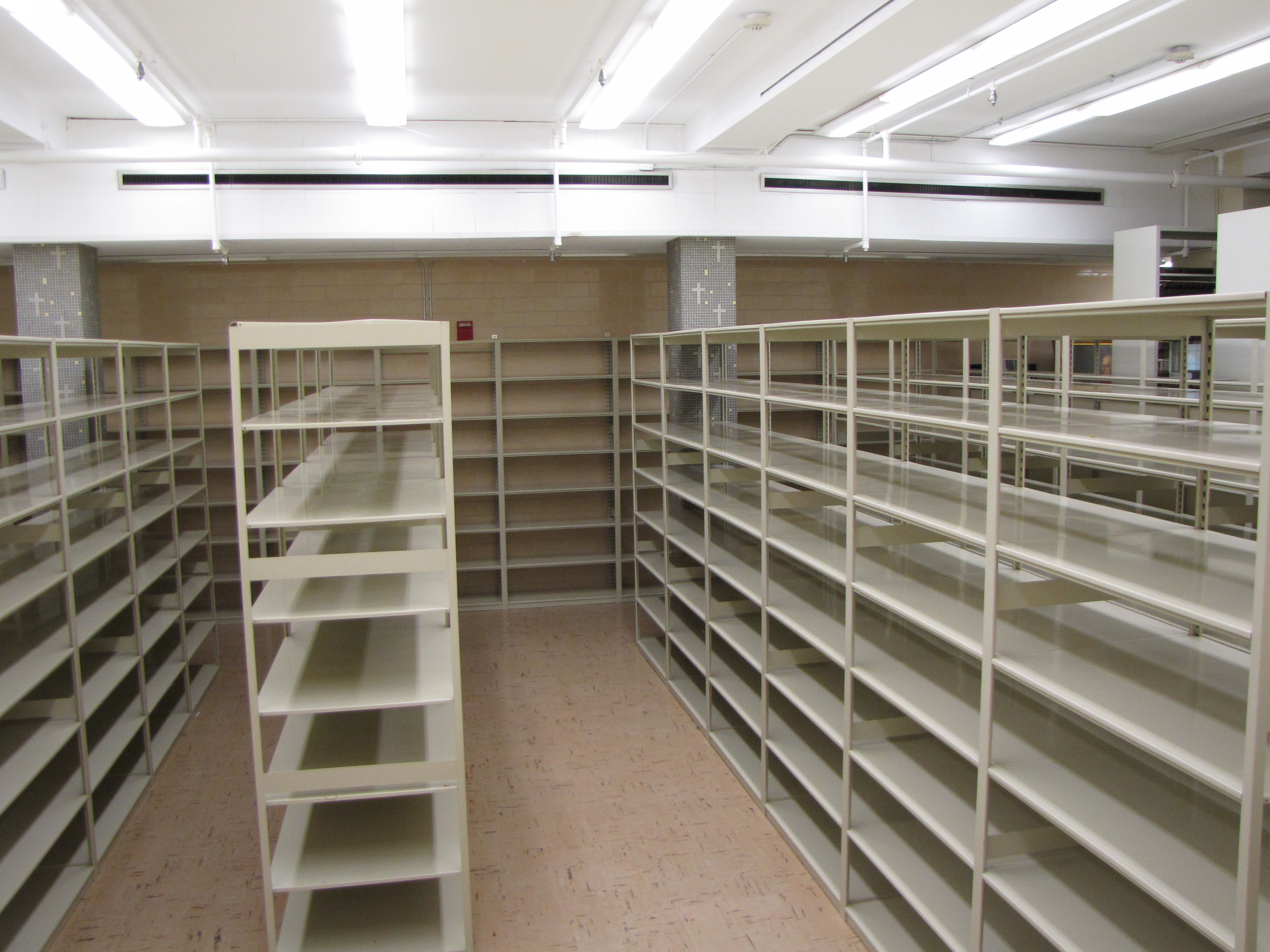Special Collections/Archives Compact Shelving Project – Phase 1 ...