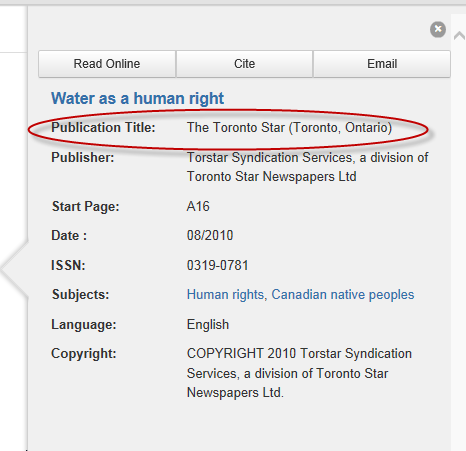 how to search for recent journal publications