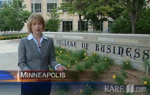 KARE-11: Ethics a main course for today's business students
