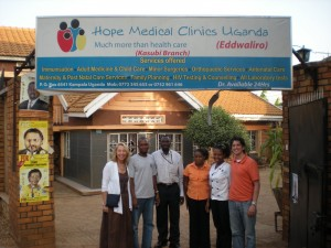 Visiting the Kasubi Hope Medical Clinic