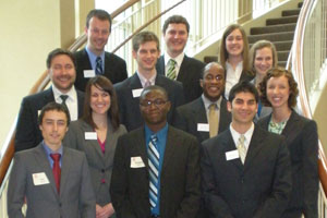 The case competition participants
