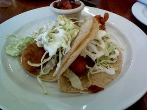 Go for the fancy fish taco rather than the fast-food version when meeting with an advisor.