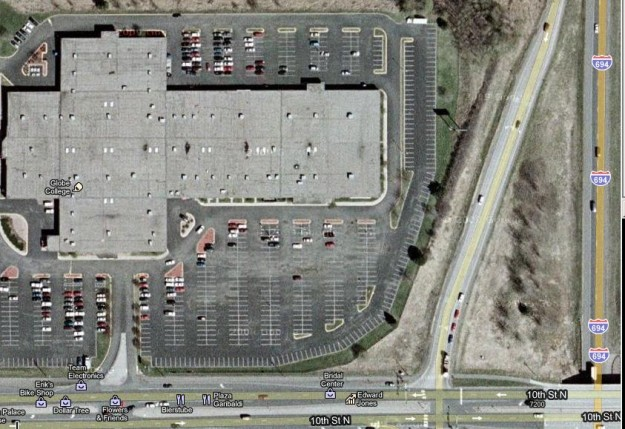 2011 NAIOP University Challenge Site - Oakdale Mall