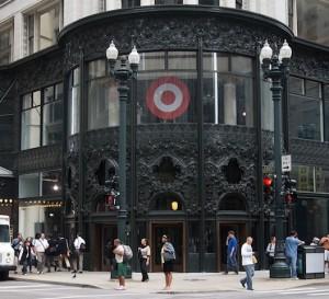 Target Chicago Sign