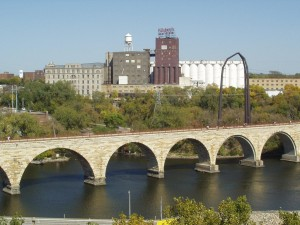 pillsbury A Mill Stone Arch