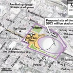 It is hopes the new site will spur economic development, the former metrodome site did not. Photo Source: Pioneer Press