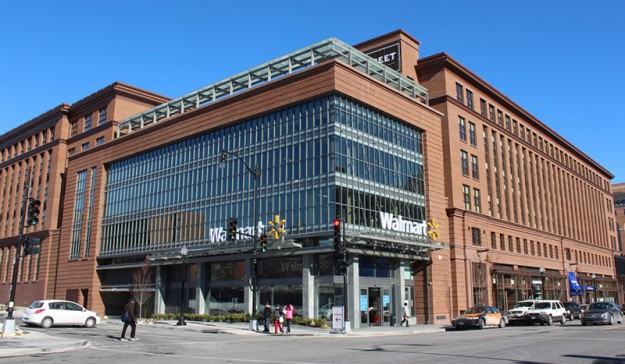 Walmart's New 80,000 sf Location in Washington D.C. is part of a mixed-use development