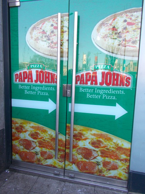 Galway City: Ah, Papa Johns. <3