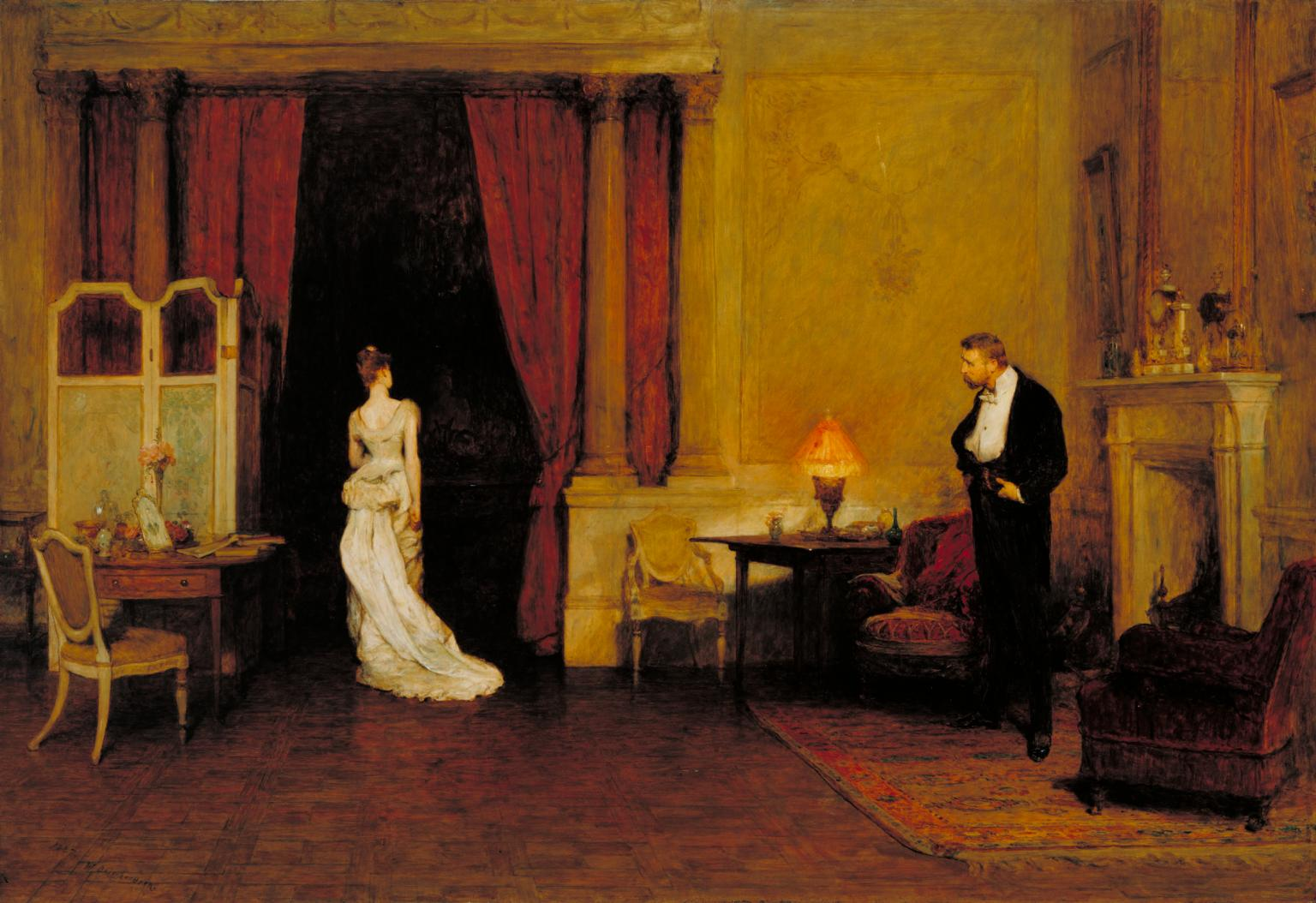 Sir William Quiller Orchardson, The First Cloud, 1887