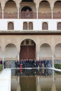 Our group at the Alhambra