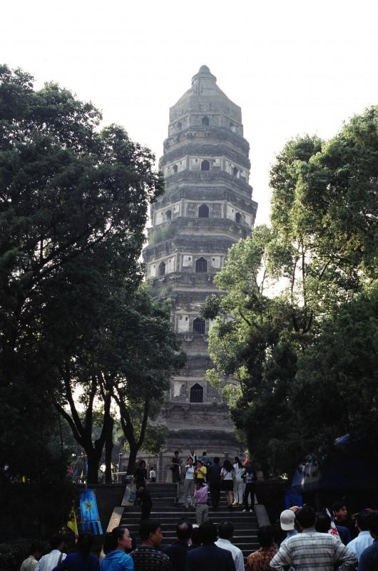 Tiger Hill pagoda.  Photo: author.