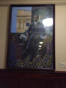 Portrait of John Archer