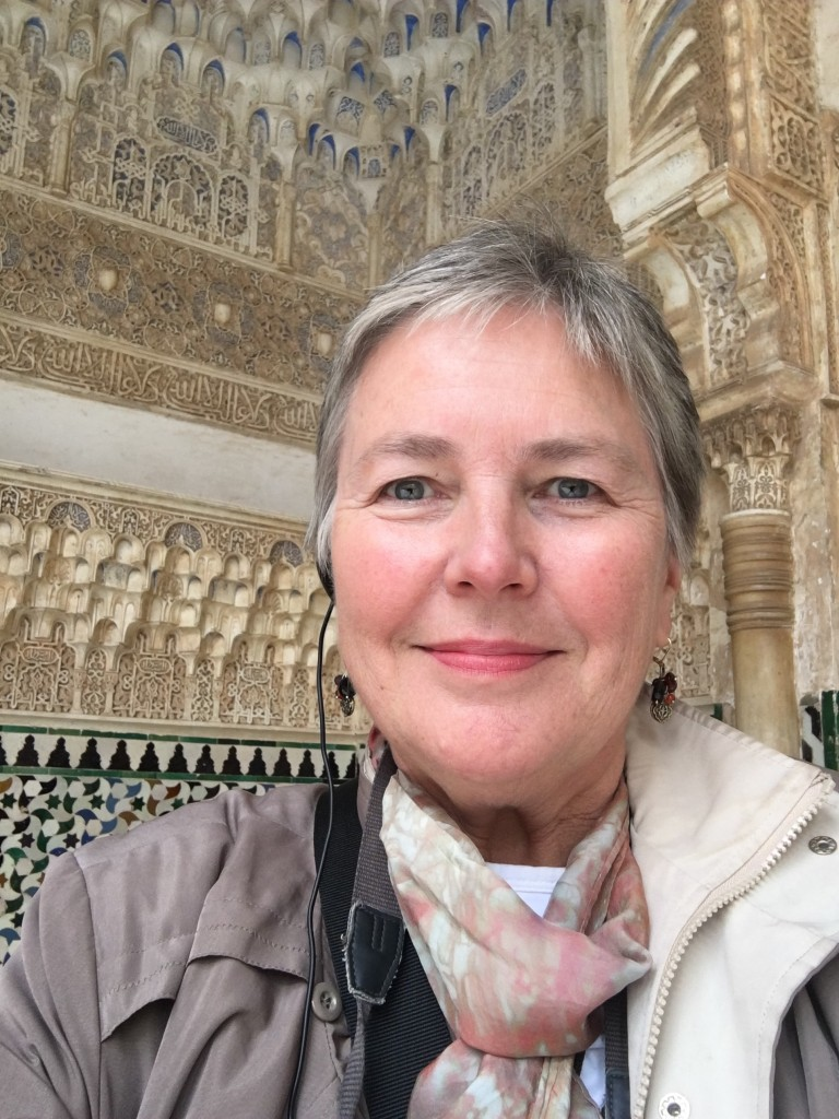 Barbara Horlbeck was Study Leader on an educational travel program on the Mediterranean coast of Spain this past year with a group from the National Trust, Archeological Association of American (AIA), and Harvard University. The program included time at the Alhambra, the location of research on the calligraphic inscriptions that were a part of Barb's masters' qualifying paper at UST.