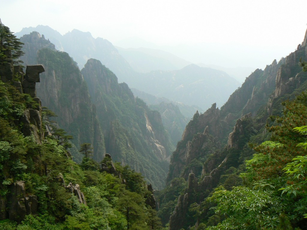 "The UNESCO site Huangshan (Yellow Mountain) is filled with pine, bamboo and rock, all three the source of more than a thousand years of painting. The sweeping bamboo forest in the lower portion of the mountains, was the location the magical martial arts scenes from the film ""Crouching Tiger, Hidden Dragon."""