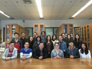 Group portrait of the Methods and Theories students as well as faculty member Chen Anying