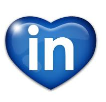 LinkedIn Heart