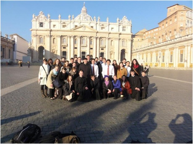 Group at St. Peter's