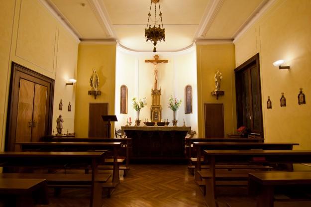 Goodbye to the Bernardi chapel.