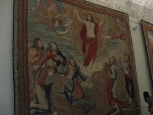 A tapestry in Galleria degli Arazzi (Gallery of Tapestries)