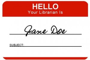 Hello Your Librarian is Jane Doe