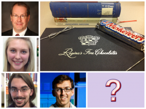 #IrelandLibraryBSP - Who will take home Regina's chocolate?