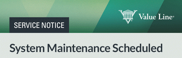 value line system maintenance