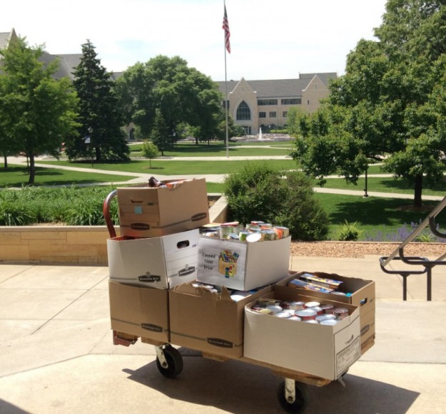 Donations from 2015 Food Drive - thank you!