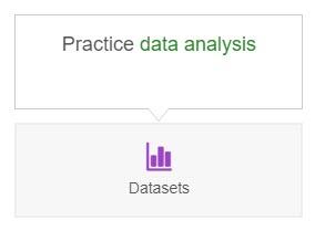 Sage Datasets button