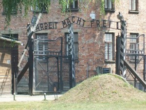 Gate to Auschwitz I