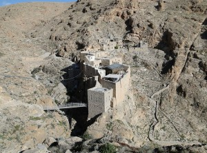 The Monastery of St. Moses the Abyssinian (Deir Mar Musa) in Syria. (Bernard Gagnon, Wikipedia)