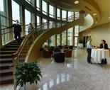 Schulze Hall atrium