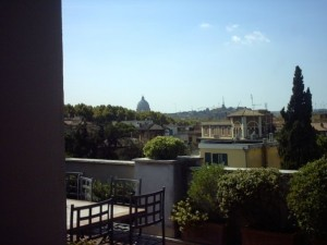 Springtime at the UST Bernardi campus in Rome