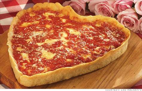 For Your Sweetheart A Heart Shaped Pizza Opus Magnum