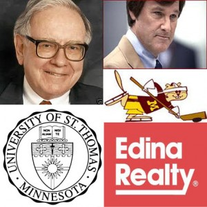 Warren Buffet, Herb Brooks, Gopher Hockey, University of St. Thomas, and Edina Realty