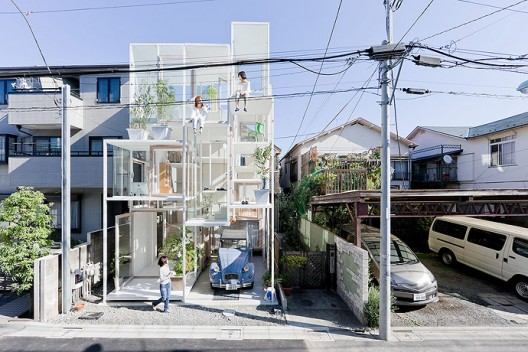 914sf house by Sou Fujimoto Architects in Tokyo