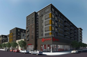 A rendering of a TargetExpress store, a smaller version of sprawling suburban Target stores that is geared for city dwellers (Source: The New York Times)