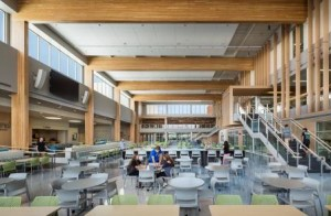The new high school commons (Source: REJournals.com)