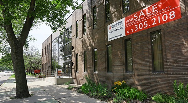 The Minnesota AIDS project building, at 1400 Park Ave. S. in Minneapolis, could be torn down late this year or early next year. (Staff photo: Bill Klotz)