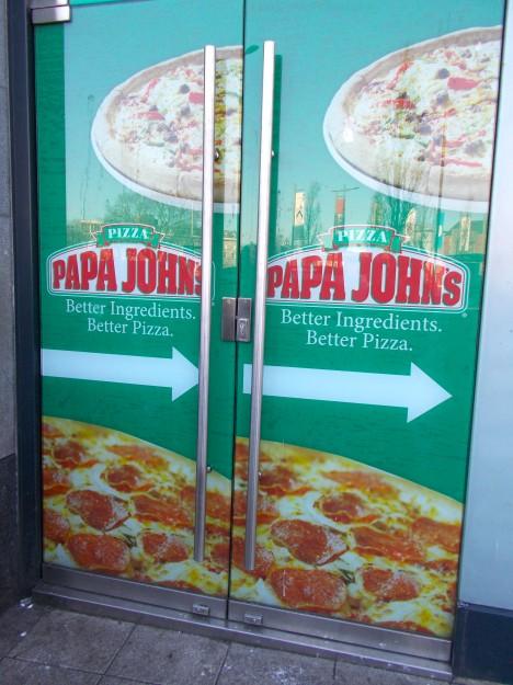 Galway City: Ah, Papa Johns. <3