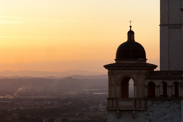 That night as we watched the sun set over the Basilica of San Francesco I realized I am basically in love with this place.  Was I ready to return to Rome the next day?  Not really, but it was a great experience, and maybe I'll get to go back someday.
